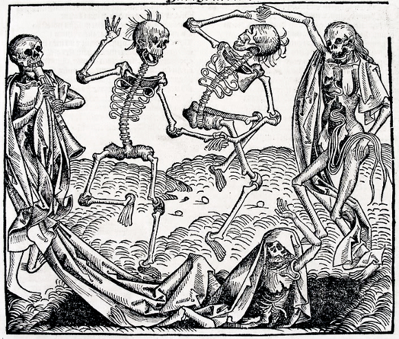 The Dance of Death, inspired by the Black Death