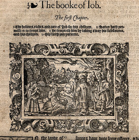 The book of Job, image available through Creative Commons
