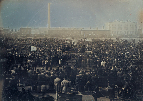 The Great Chartist Meeting, London 1848