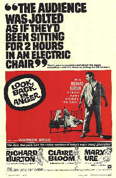 Look Back in Anger film poster