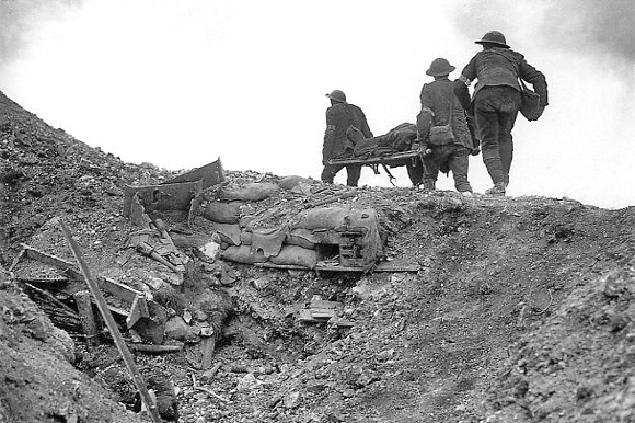 WWI stretcher bearers