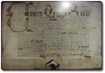 Charter of Sandbach Tiwn, photo by Lantresman, available through Creative Commons